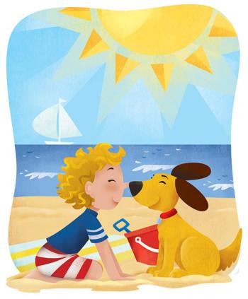 Beach best friends