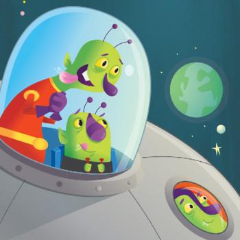 Aliens traveling