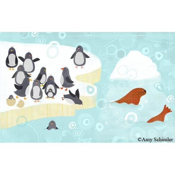 Penguins and Walrus