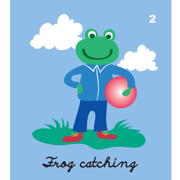 Frog catching
