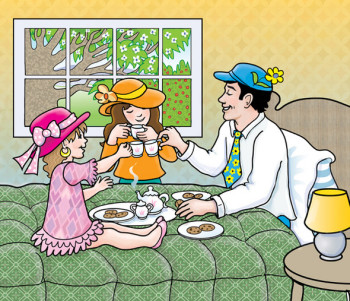 Tea Party with Daddy