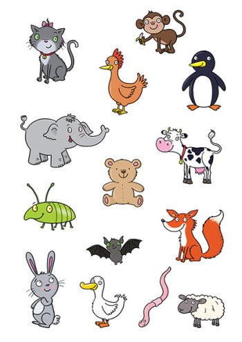 Animals for homework helpers for Sainsbury's