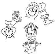 Twelve O' Clock Cats