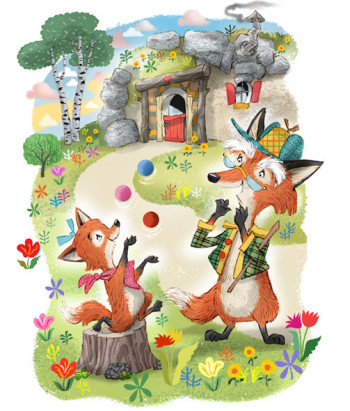 A foxy story about foxes
