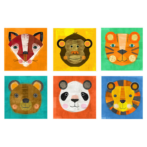 Animal Heads Puzzle