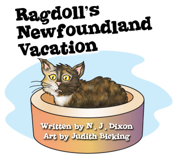 Ragdoll's Newfoundland Vaction title illustration