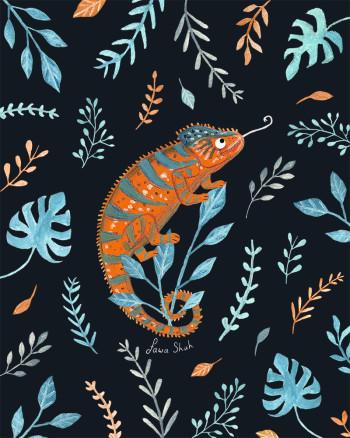 Chameleon Pattern (Personal)
