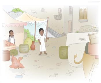Saba Boo Book Illustrations