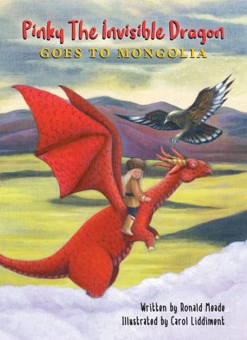 Pinky The Invisible Dragon goes to Mongolia