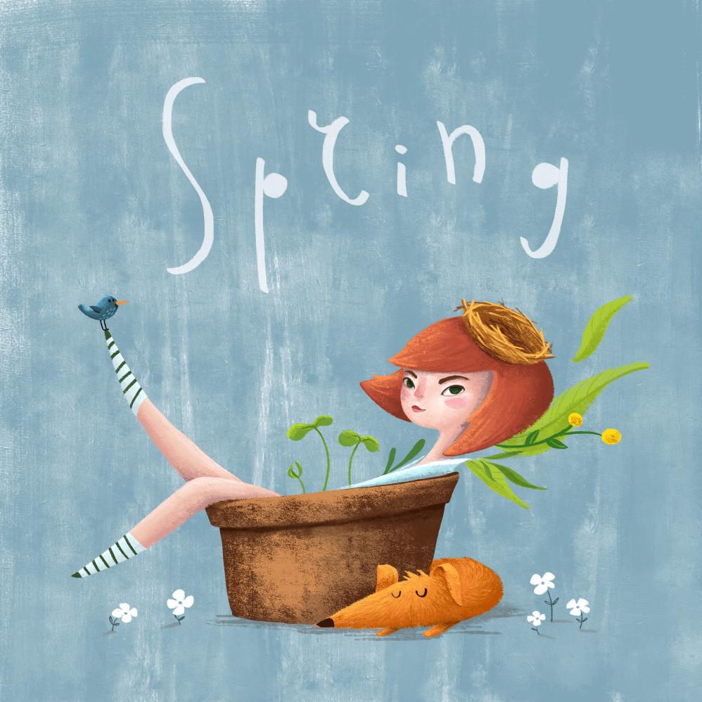 Spring girl