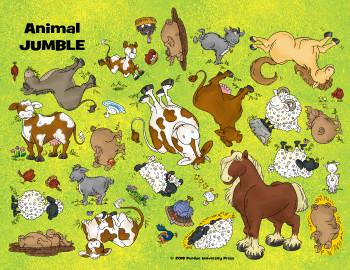 Animal Jumble Activity Sheet