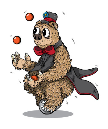 The Juggling Bear