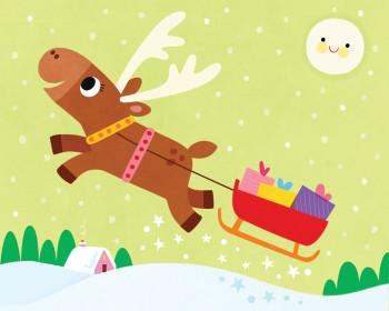 Animals-Magic Little Reindeer