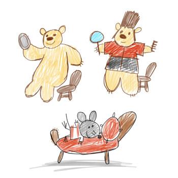 Kids Illustration for Benchmark