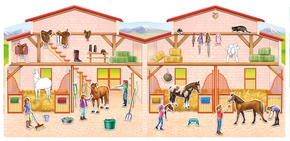Sticker Book - Ponys and Horses