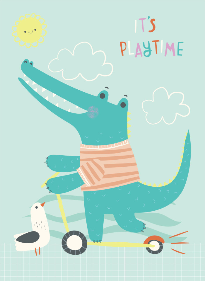 It's Playtime Crocodile