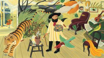 The Fantastic Jungles of Henri Rousseau – interior illustration