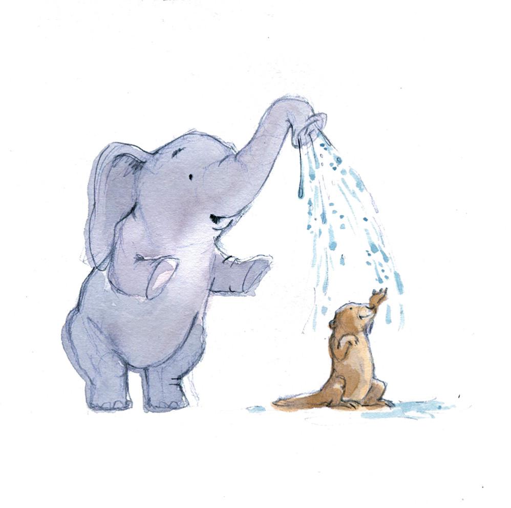 Shower a friend