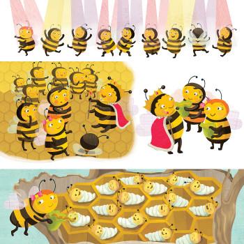 Chirp magazine –Beezly the Bee