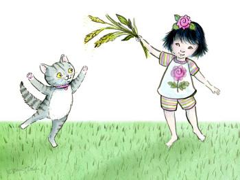 Kid & Cat