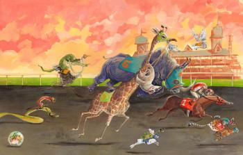 animals racing