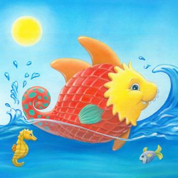 Pokadurple fish