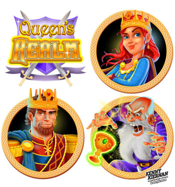 Queen's Realm - Princess, King and Wizard game characters
