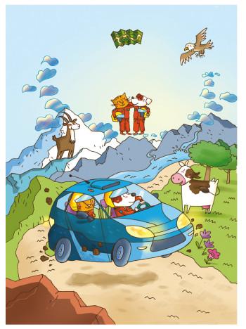 Un Rally in Montagna Ed.La Coccinella