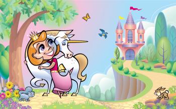 Little Princess and Unicorn