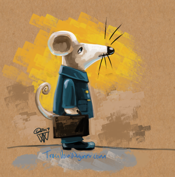 Mouse in Line