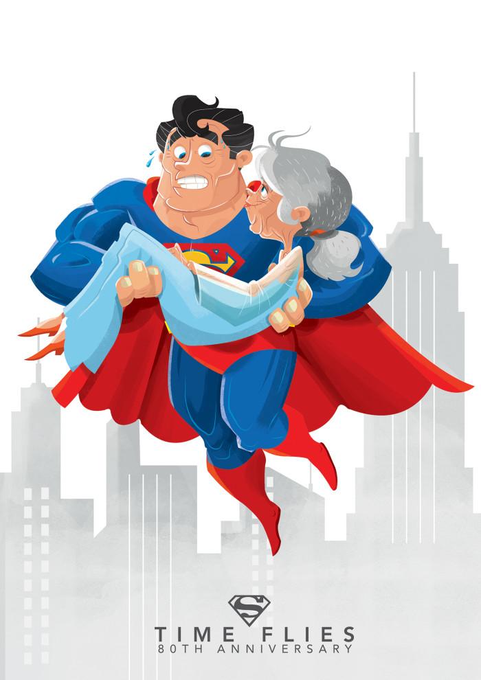 Superman - Time Flies
