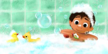 Fun in the bathtub