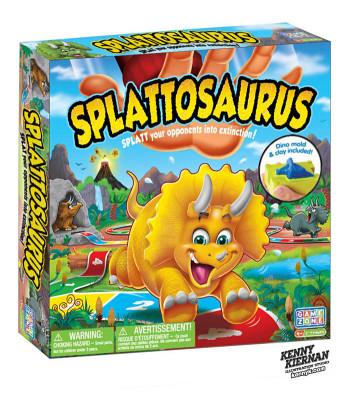 Splattosaurus game box