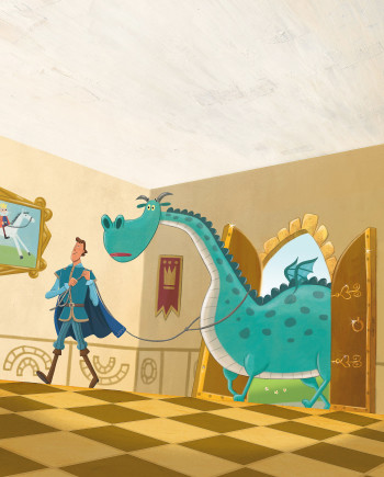 The Magic Boots-Dragon Pet