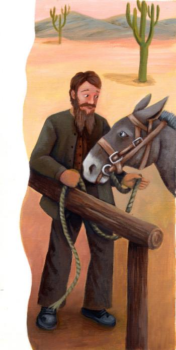 Pioneer and Mule