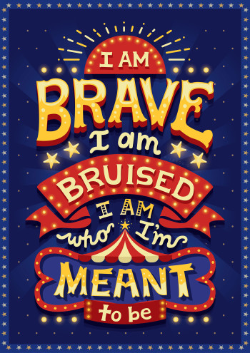 Brave and bruised