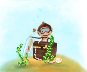 monkey and treasure