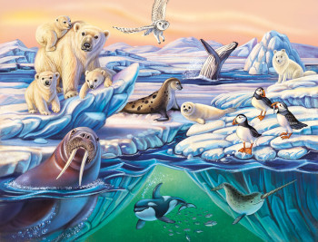 Puzzle - Animals in the Arctic