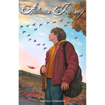 A Young Teen Boy Looks Skyward