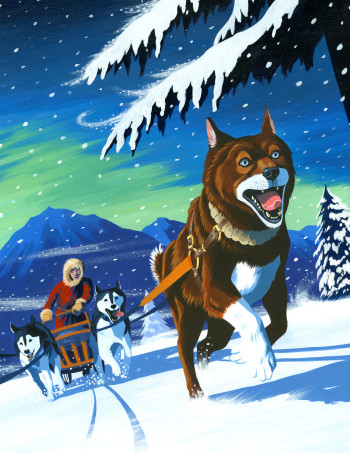 The Book of Animal Superheroes - Balto the sled dog