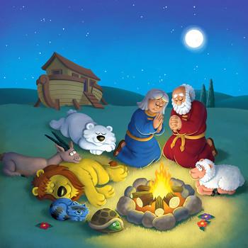Noah's Ark cover illustration