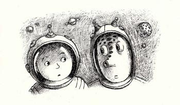 Boy and Alien