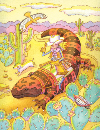 Iguana Girl 1