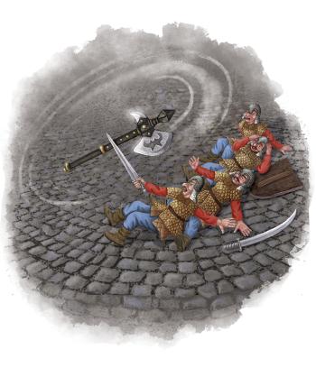 Spot illustration for Crystal Quest