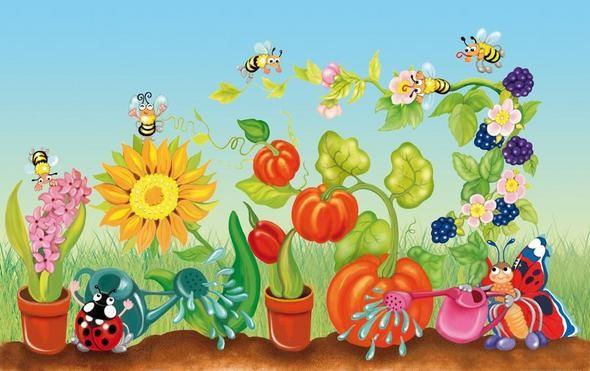 a happy garden