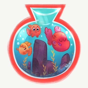 happy fish bowl