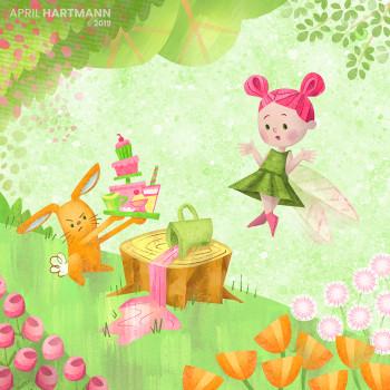 Fairy and Bunny