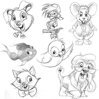 Character Development Animals
