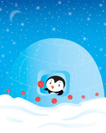 Penguin Lollipop