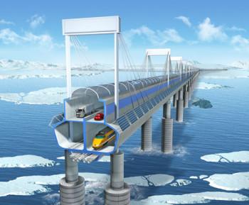 Arctic bridge